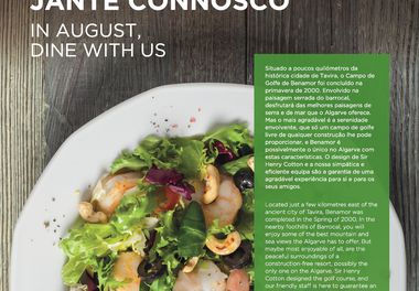 In August, Dine with us