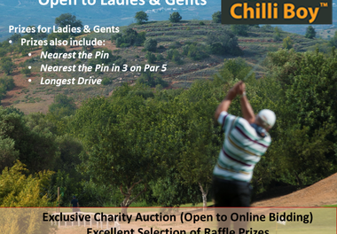 Torneio Chilli Boy Charity Golf Challenge 2020
